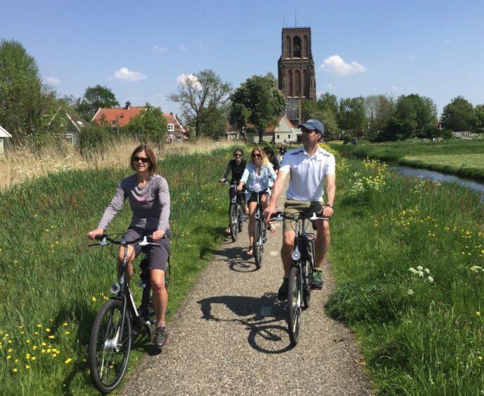 Local bike tour Amsterdam