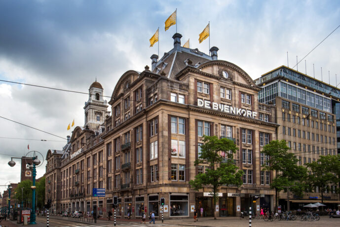 Exclusive shopping day Amsterdam