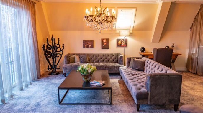 Imperial suite luxury hotel Amsterdam