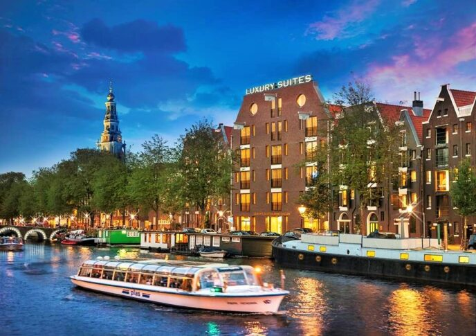 Luxury suite hotel Amsterdam