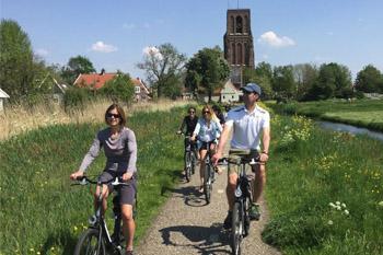 Local Amsterdam bike tour